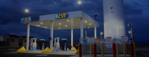 BLU LNG fueling station - Cartwright